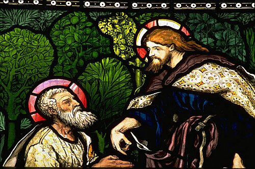 Jesus' Charge to St. Peter by William Morris Troutbeck